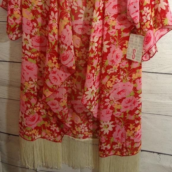 Lularoe Small Monroe Kimono